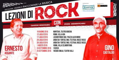 NUOVE DATE DI LEZIONI DI ROCK